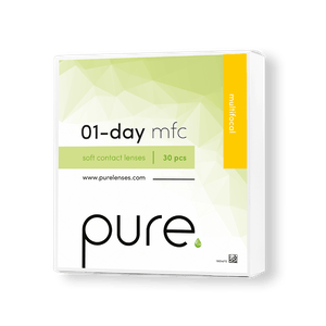 Pure 01-day multifocal daglinser
