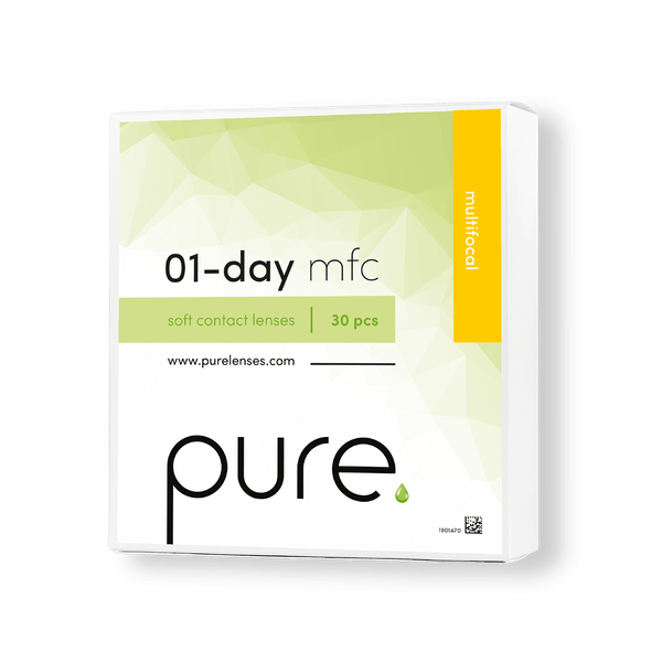 Pure 01-day multifocal daglinser