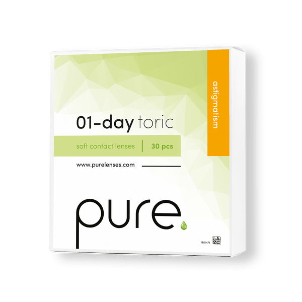 Pure 01-day toric daglinser