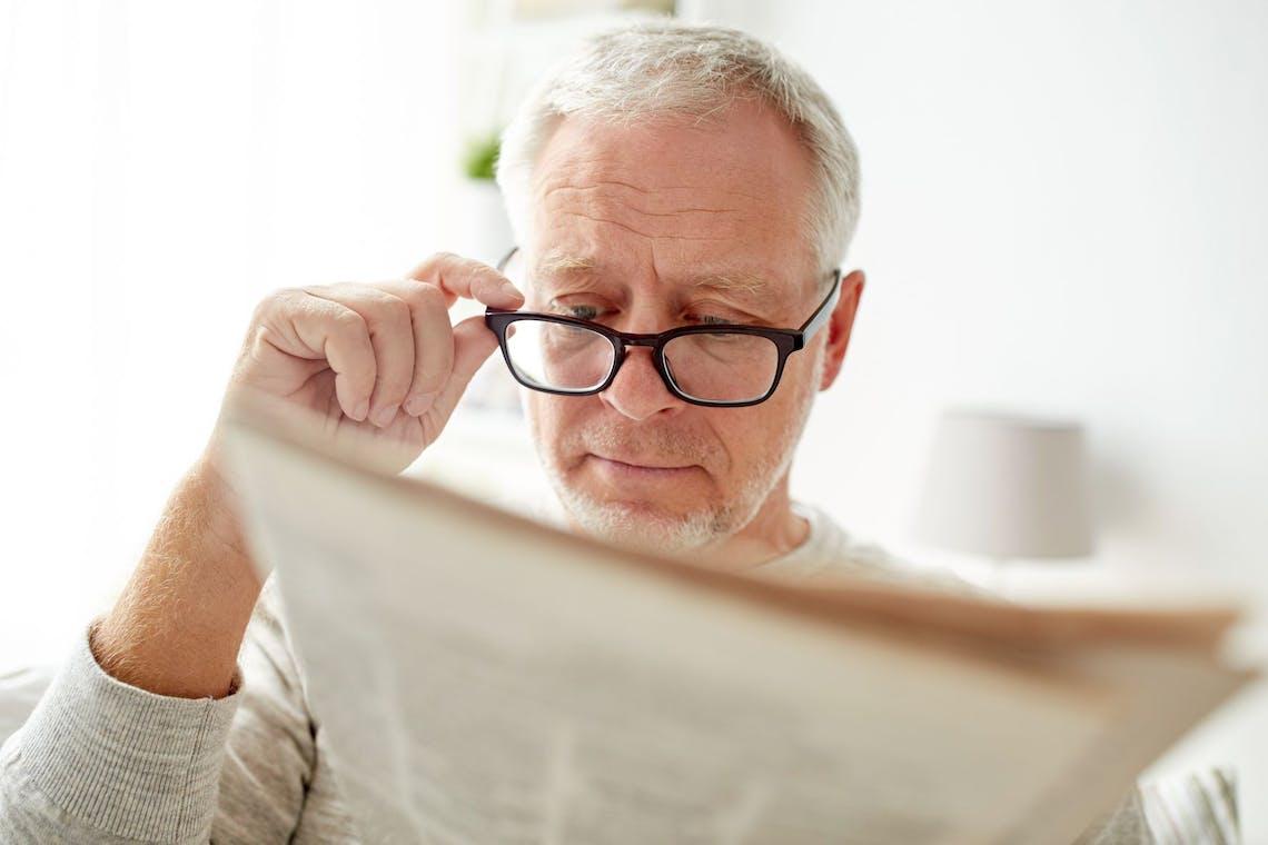 En av tre bruker briller feil