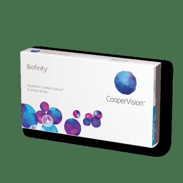 Biofinity månedslinser