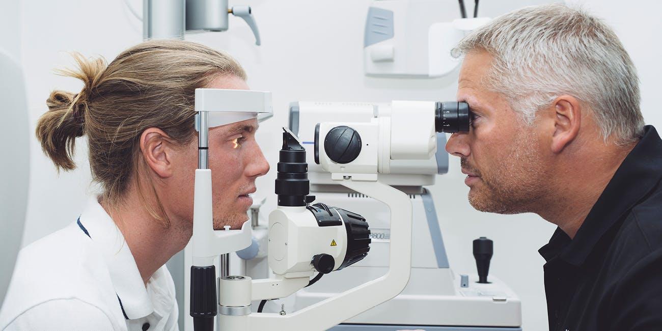 Synsundersøkelse hos Alliance Optikk