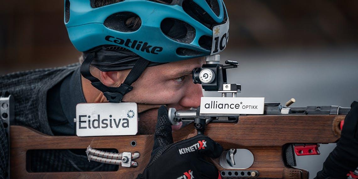 Erlend Bjørntegaard samarbeider med Alliance Optikk