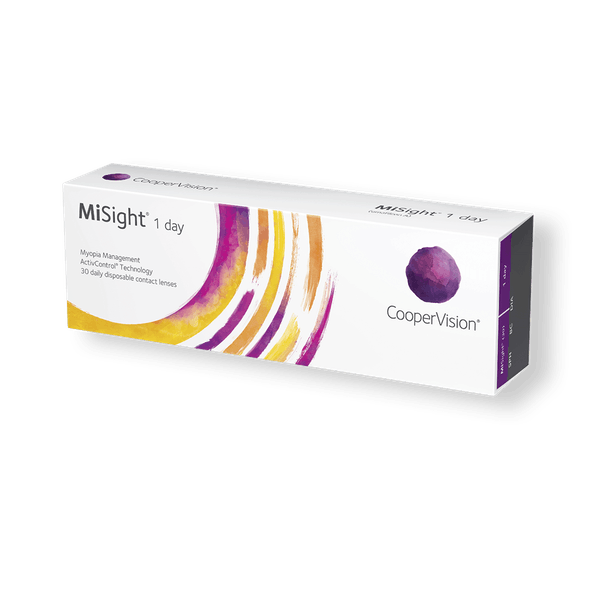 MySight myopikontroll daglinser