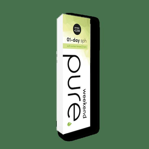 Pure Weekend kontaktlinser fra Alliance Optikk