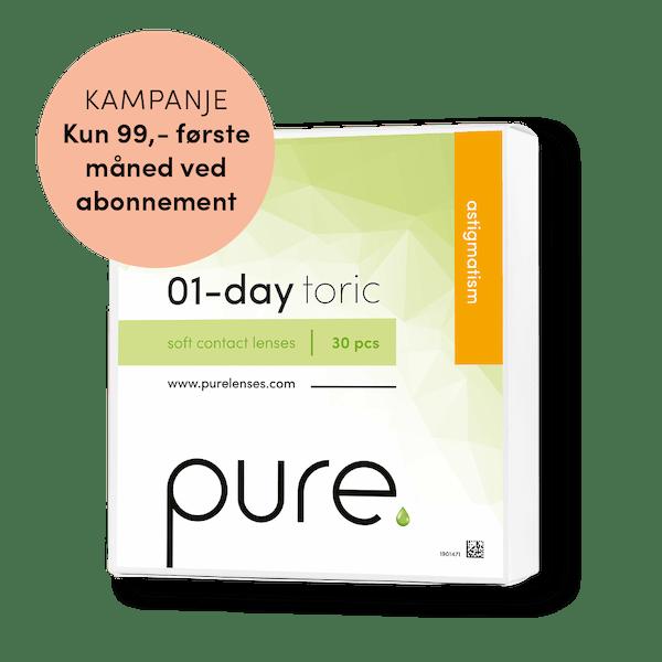 Pure 01-day toric daglinser Tilbud